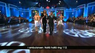 """Hellenius och Almenäs tolkar """"Groupie"""" i Lets dance"""