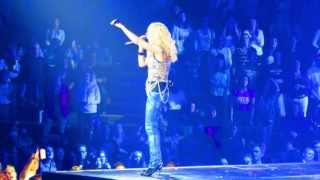 "Carrie Underwood singing ""Before He Cheats"" Live  in Concert 4/9/13"