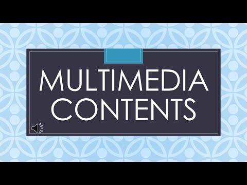 Multimedia Contents