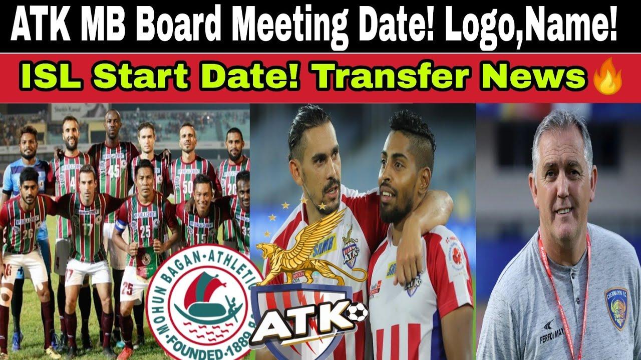 ATK Mohunbagan Board meeting Date:Jersey,Name,logo! ISL Start Date! Transfer News🔥