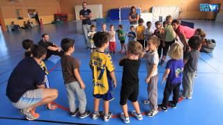 Baby Handball au Saint-Raphaël Var Handball