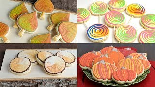 BEAUTIFUL COOKIES with ONE SIMPLE ICING TECHNIQUE by HANIELA
