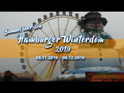 Rundgang Hamburger Winterdom 2019 (Eröffnungstag)   RFHH #28  [HD]