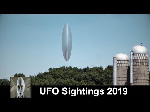 UFO Sightings 2019 Huge Unknown Object Spotted On A Farm