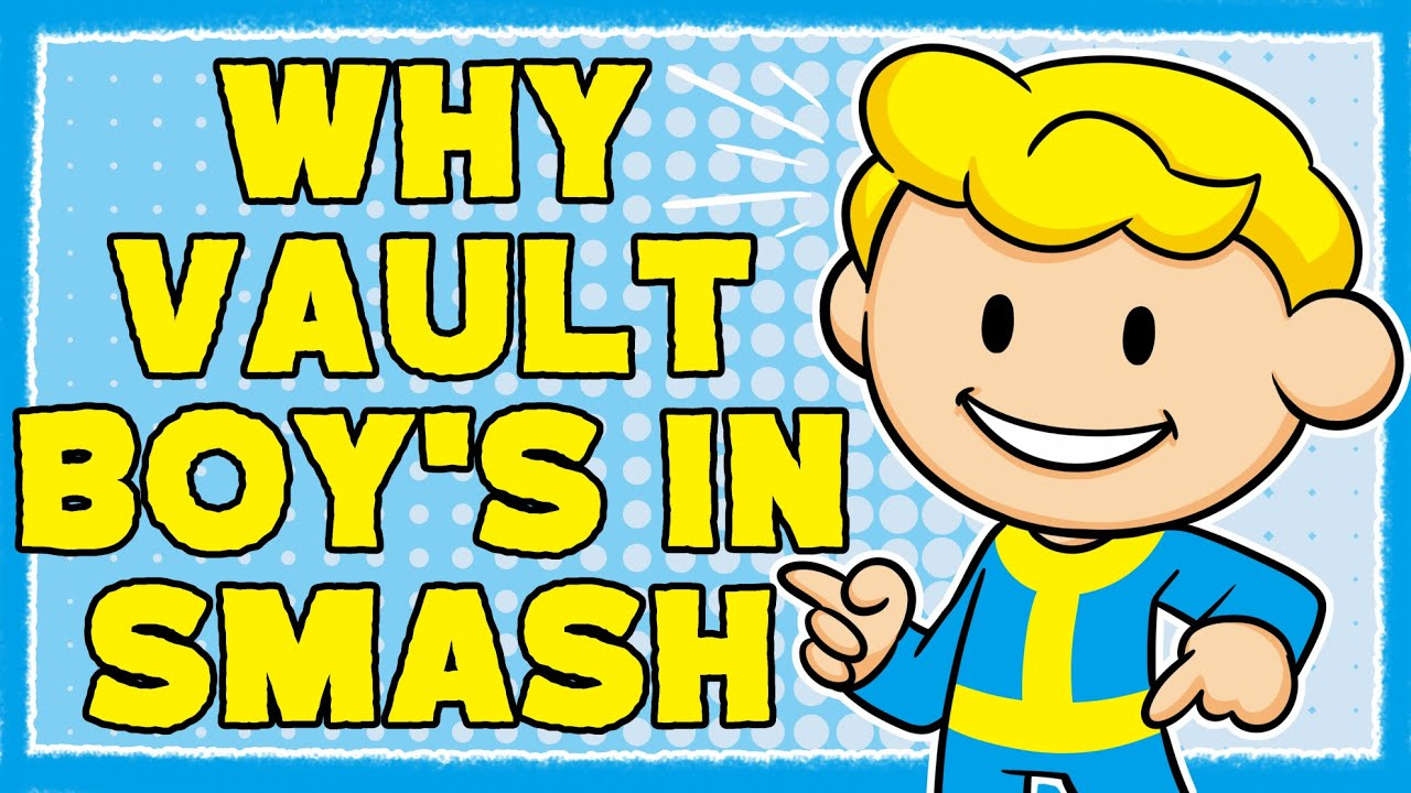 Why Vault Boy is in Smash