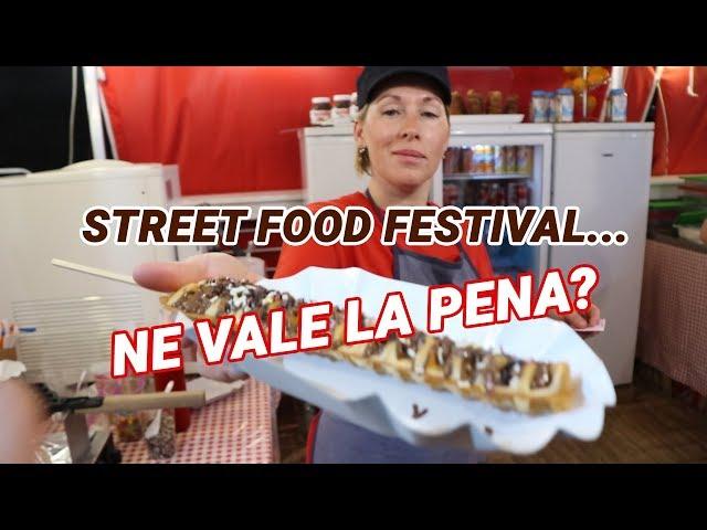 Street Food Festival a Formia (Italia)...Ne vale la pena? - Vlog #08
