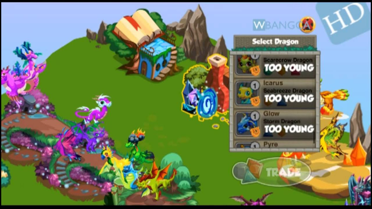 Gemstone Dragons In Dragon Story Spell Shop Trading