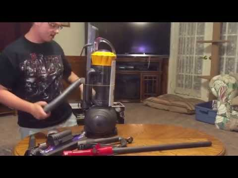 Dyson ball multifloor unboxing and assembly