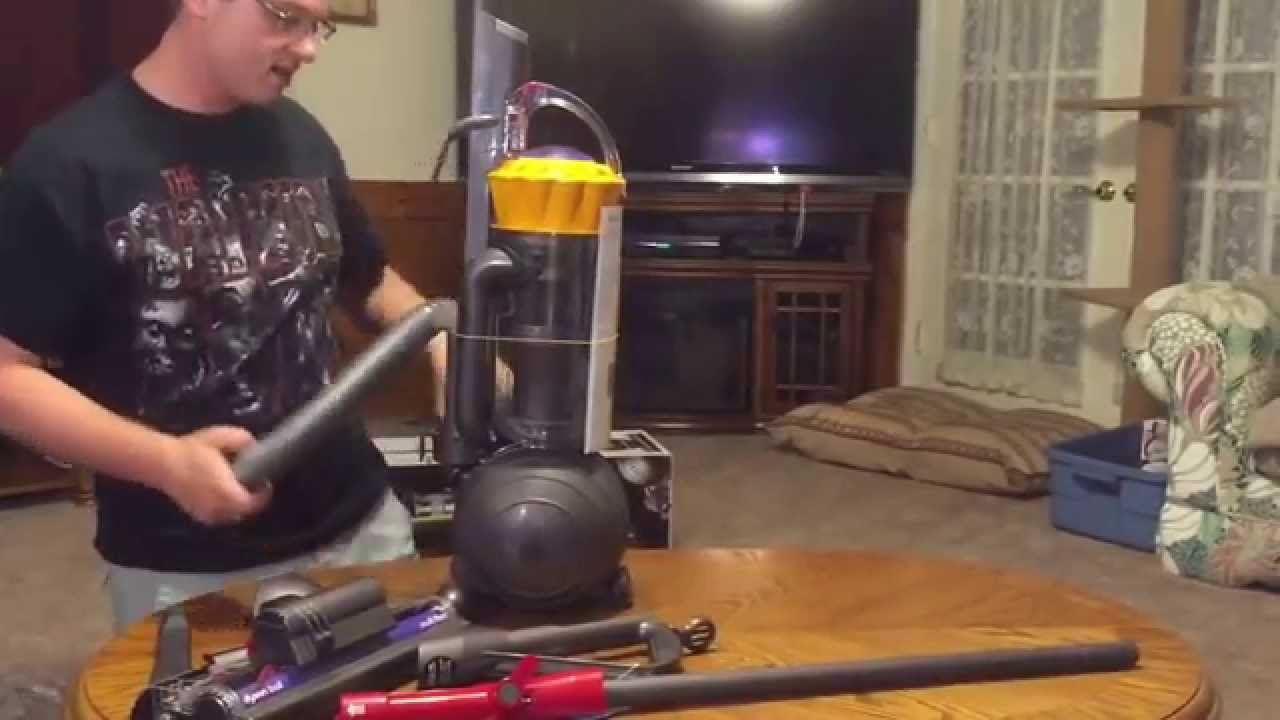 dyson ball multifloor unboxing and assembly - youtube