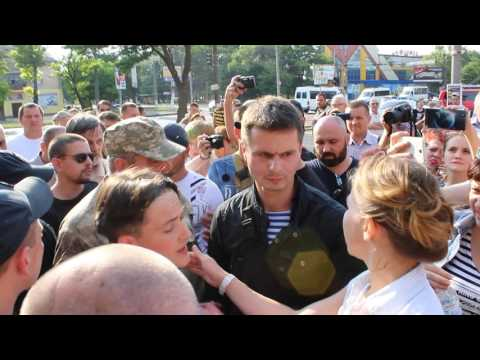 0512: Потасовка Савченко в Николаеве