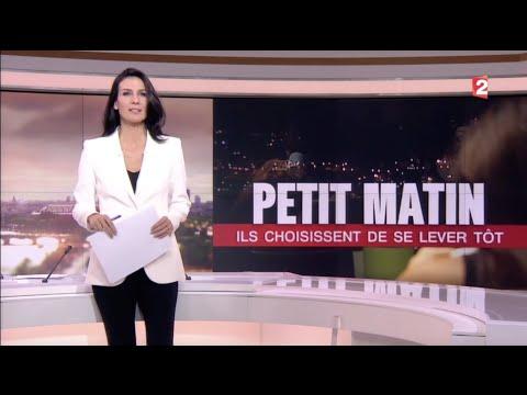 """20h de France 2 - """"Petit matin : ils choisissent de se lever tôt"""""""