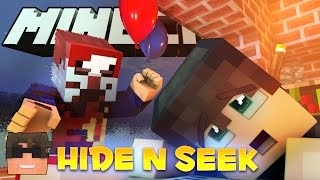Minecraft IT Hide and Seek! HIDE FROM PENNYWISE! (Minecraft IT Minigame)