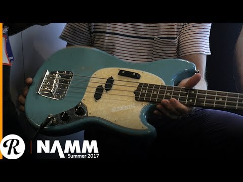 Justin Meldal-Johnsen on His Signature Fender Road Worn Mustang Bass at Summer NAMM 2017
