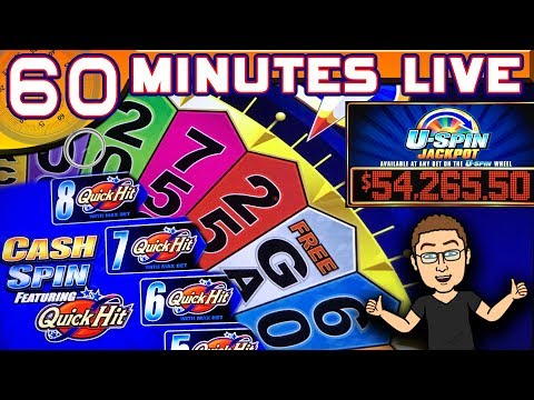 🔴 60 MINUTES LIVE! ★ CASH SPIN Ft. QUICK HITS ★ LIVE CHAT