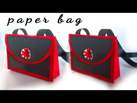 how to make paper bag / paper bag design / paper bag making