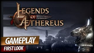 Legends of Aethereus Gameplay - Game With Funniest Looking Haircuts (Commentary)