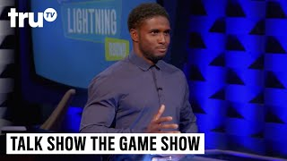 Talk Show the Game Show - Lightning Round: Reggie Bush vs. Fortune Feimster | truTV