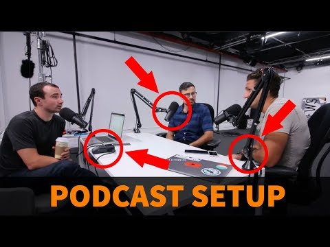 Y Combinator's Awesome Podcast Setup