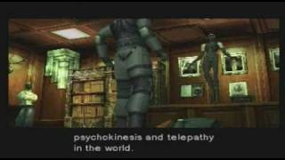 Lets Play Metal Gear Solid pt.13: Psycho Mantis... is freaking me out!
