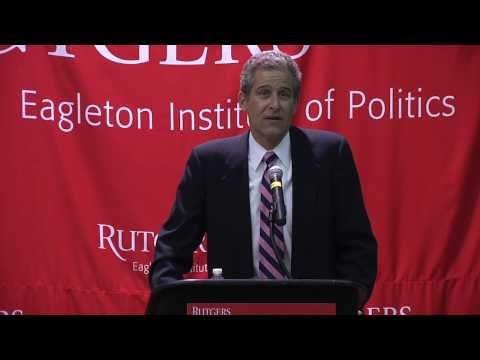 Richard Besser at Eagleton Institute of Politics (Rutgers University)