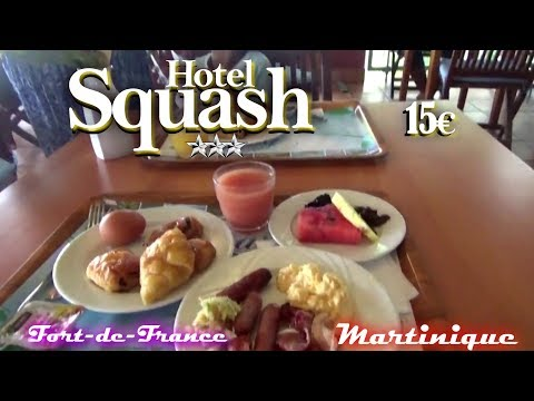 Petit Déjeuné Au Squash Hotel - Fort-de-France - Martinique