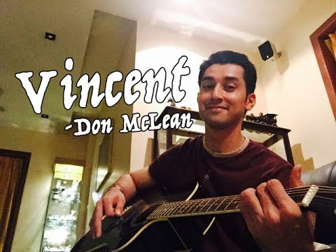 Vincent - Don McLean - Starry Starry Night guitar chords / tabs ...