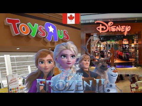 FROZEN 2 GIFT SHOPPING AT TOYS R US & DISNEY STORE OUTLET