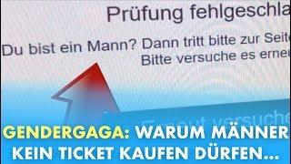 Warum Männer kein Ticket kaufen dürfen - Der #GenderGaga-TEST💆♂️ thumbnail