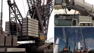 Liebherr - Krane fur die Windindustrie