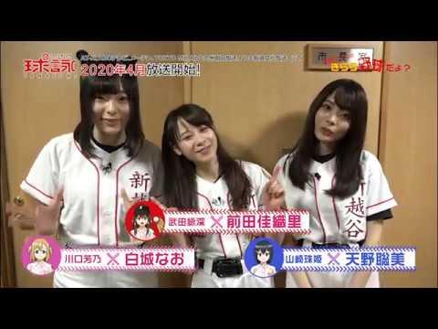 TVアニメ「球詠」予習大作戦!新越ナインのきらら野球だよ?<第六回>