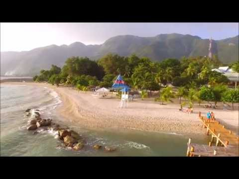Kaliko Beach, Haiti, Via DJI Drone