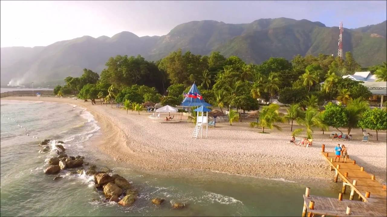 Kaliko Beach Haiti Via Dji Drone