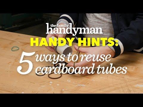 Handy Hints: 5 Ways to Reuse Cardboard Tubes