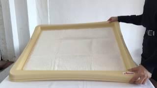 [펫미리] 강아지 배변판 아몬스 초대형 토일렛