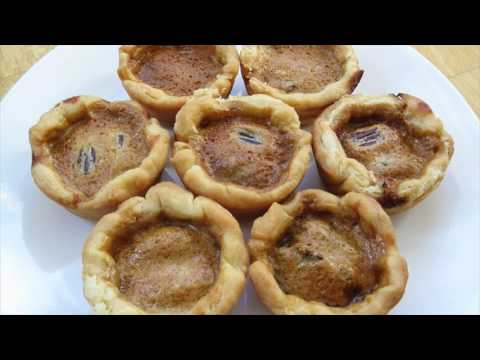 Christmas Runny Butter Tarts Cookies