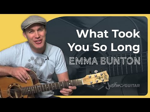 What Took You So Long - Emma Bunton - Easy Song Guitar Lesson How To Play