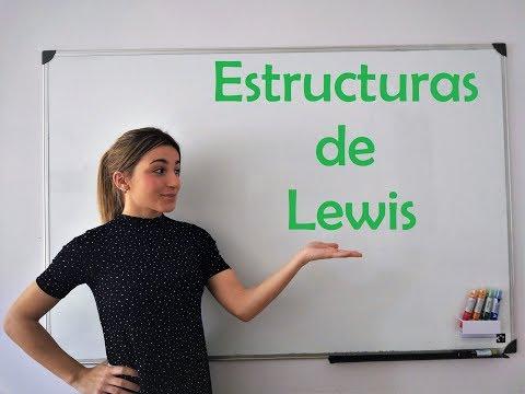 QUÍMICA. Estructuras De Lewis (teoría + Ejercicios)