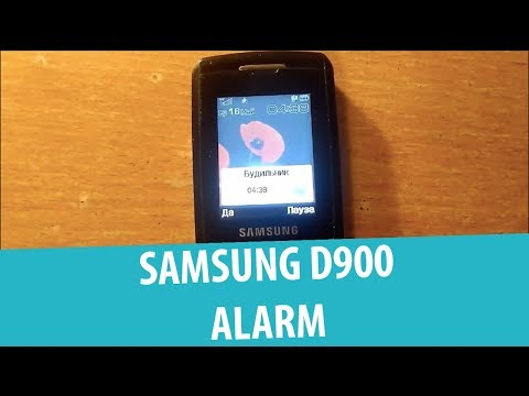 Samsung SGH-D900 - Будильник/Alarm