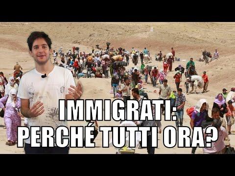 Immigrati: perché tutti ora?