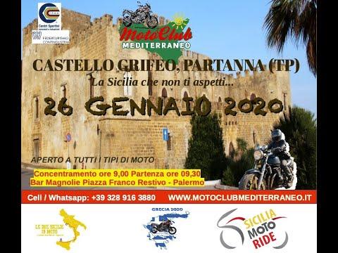 Moto Tour Castello Grifeo, Partanna (TP)