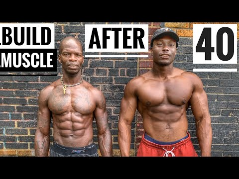 Build Muscle After 40 Workout | Old Bodybuilder Workout Motivation
