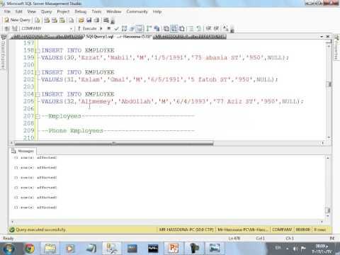 الدرس الرابع عشر: لغة سكول جزء2 SQL-Language