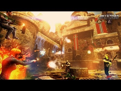 Rise of the Triad multiplayer footage reveals shroom-powered shooter insanity