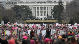 'This is the beginning': Over one million join anti-Trump Women's Marches worldwide