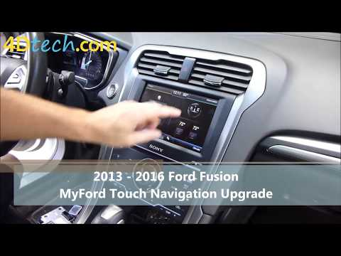 Add Factory Navigation to MyFord Touch | 2013 - 2016 Ford Fusion