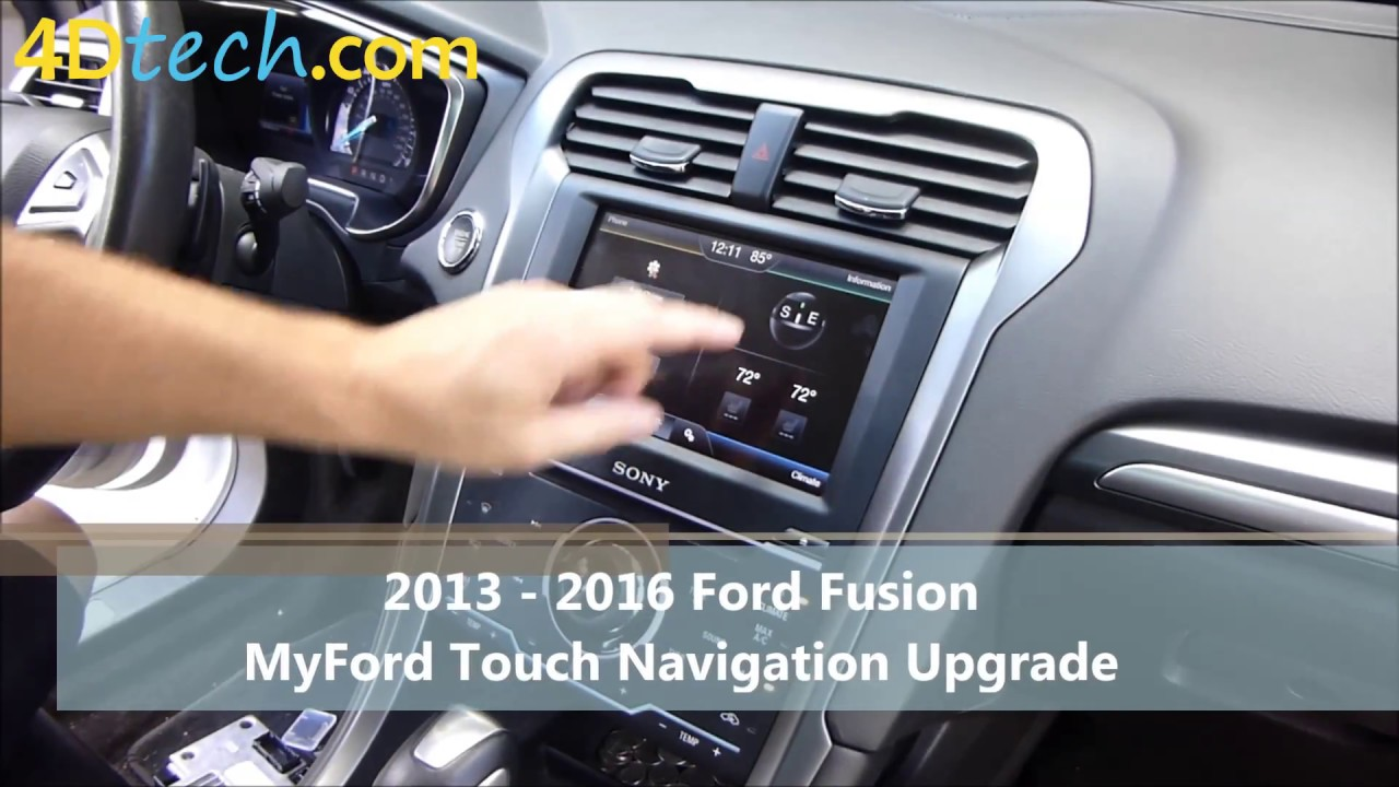 Add Factory Navigation To Myford Touch 2013 2016 Ford
