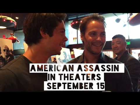 Taylor Kitsch at the American Assassin premiere in Austin
