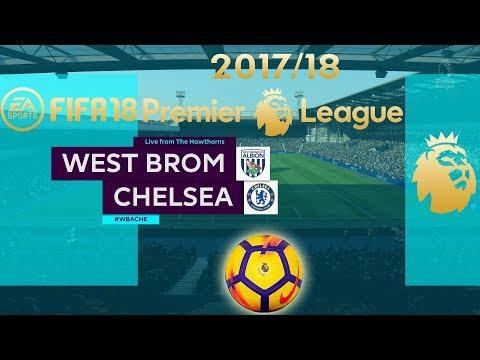 FIFA 18 West Brom vs Chelsea | Premier League 2017/18 | PS4 Full Match