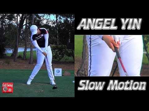 ANGEL YIN – HANDS AT IMPACT (CLOSE UP SLOW MOTION) DRIVER GOLF SWING CME TIBURON 1080 HD