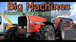 Old Massey Ferguson tractor 3080 -Big Machines